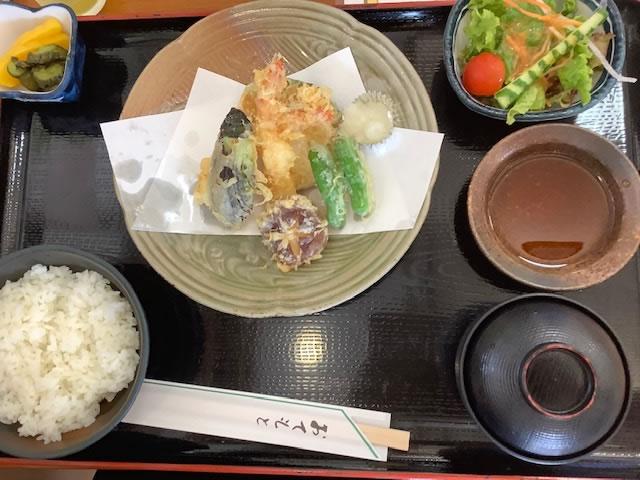天ぷら定食_かがみの里